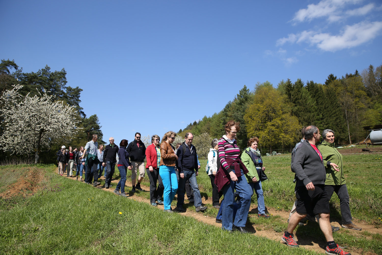 Wanderung von Oberkrumbach nach Kleedorf