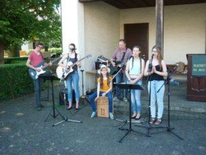 Gemeindefest-2016-05-Jugendband