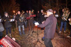 Waldweihnacht in der Fuchsau; 18.12.2016